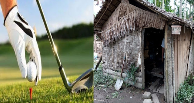 golf & rumah dhuafa  foto by StatusAceh.Net