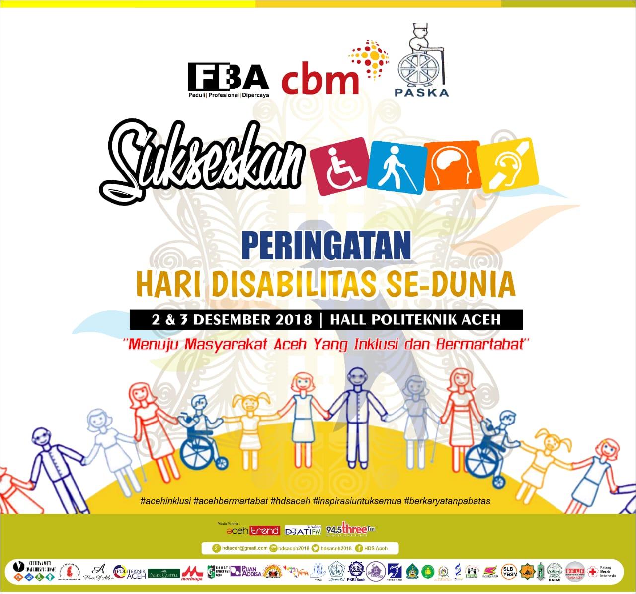 Hari Disabilitas Se-Dunia di Aceh